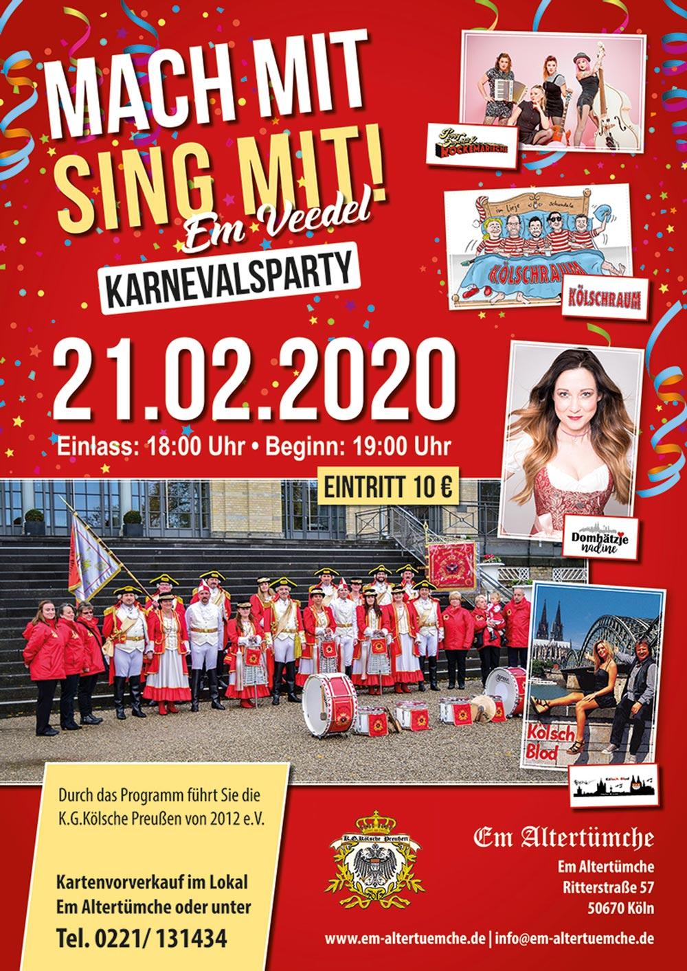 Karnevalsverein aus Köln